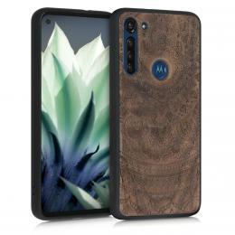 Pouzdro WOOD pro Motorola Moto G8 Power