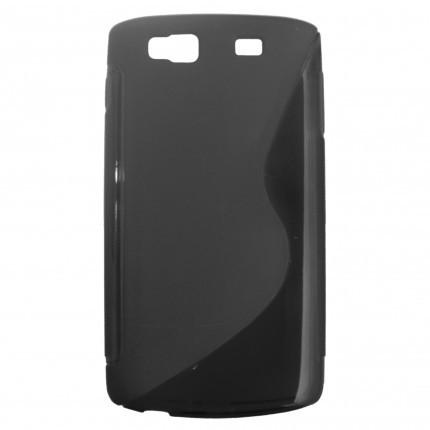 Pouzdro SUPER GEL velikost Nokia Lumia 630 černé