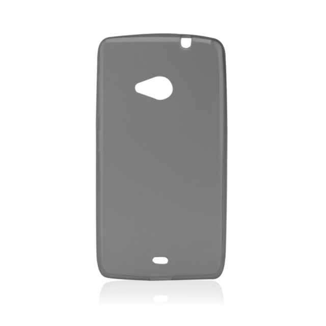Pouzdro GEL Microsoft Lumia 535 šedé