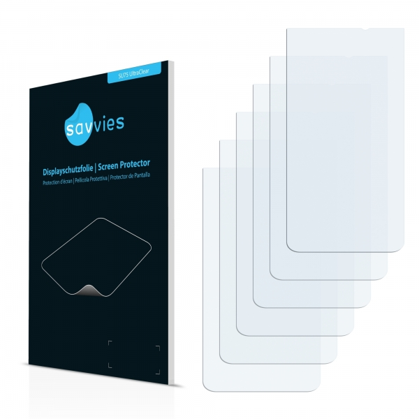 6x SU75 UltraClear Screen Protector Gigabyte GSmart Arty A3