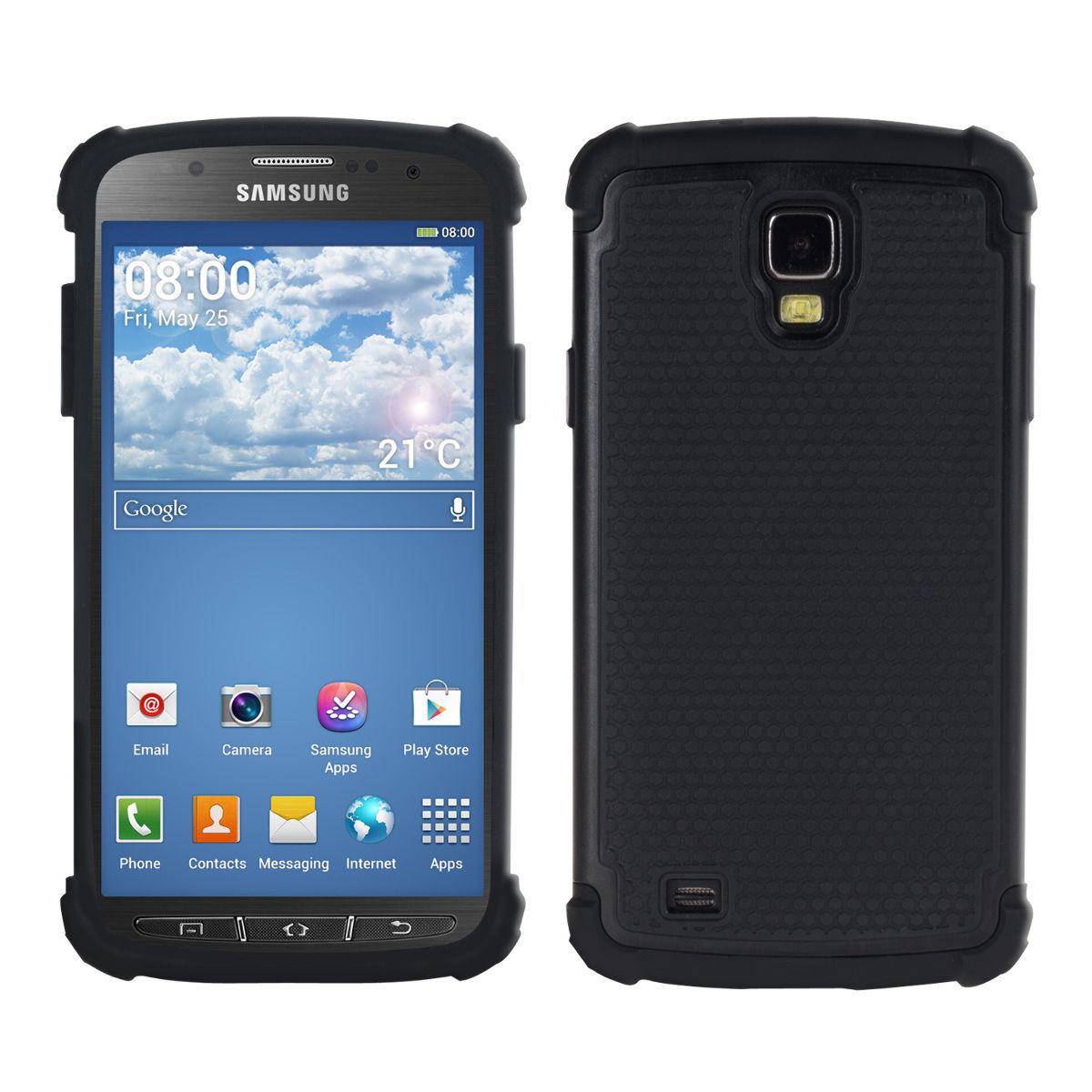 Odolné pouzdro pro Samsung Galaxy S4 Active černé