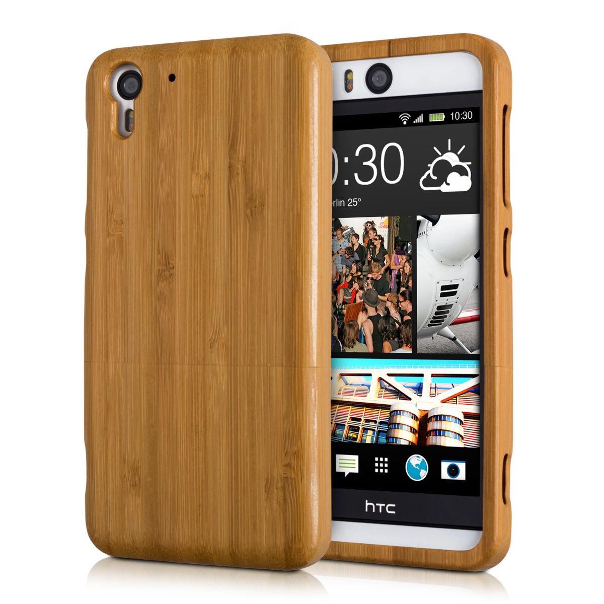 Pouzdro pro HTC DESIRE EYE bambus
