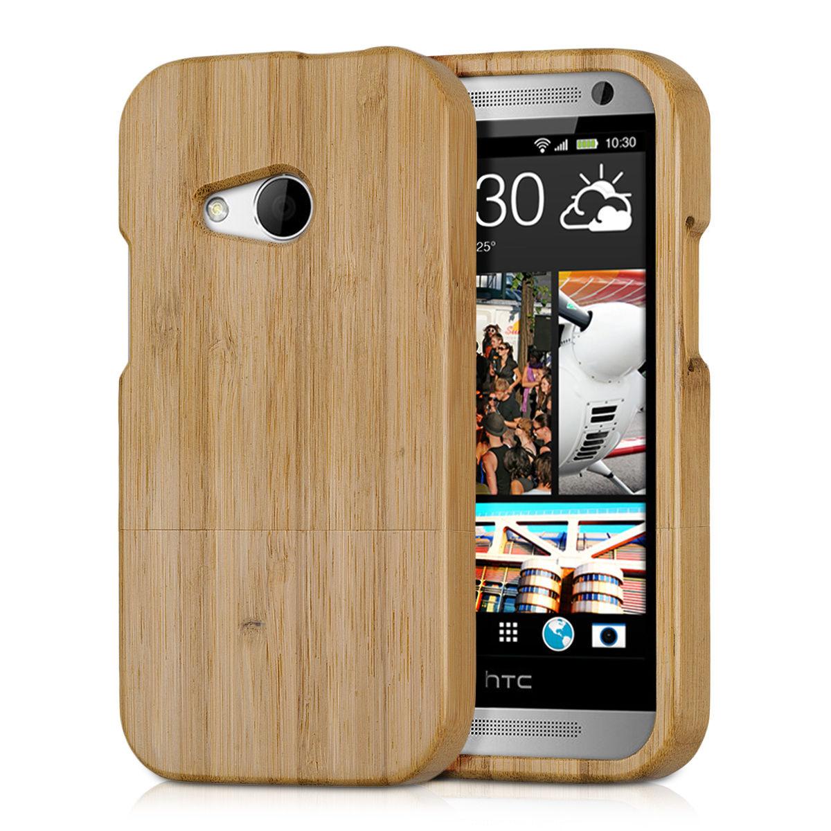Pouzdro pro HTC ONE MINI 2 bambus