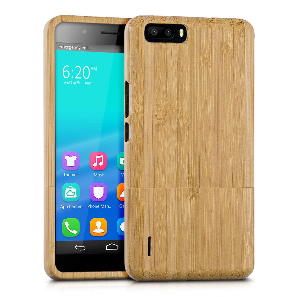 Pouzdro pro Huawei Honor 6 Plus bambus