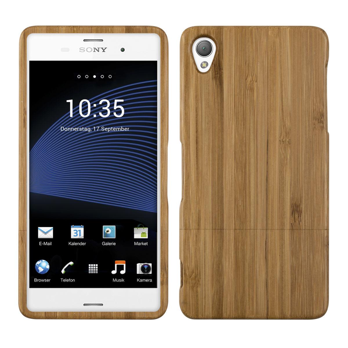 Pouzdro pro Sony Xperia Z3 bambus