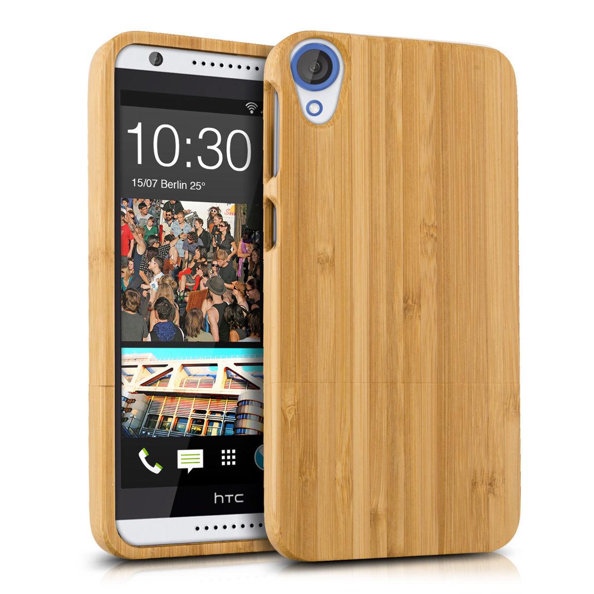 Pouzdro pro HTC Desire 820 bambus
