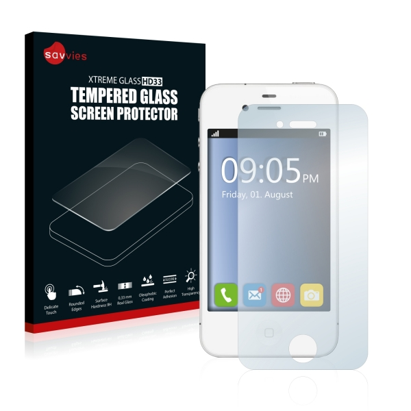Tvrzené sklo Tempered Glass HD33 Apple iPhone 4S