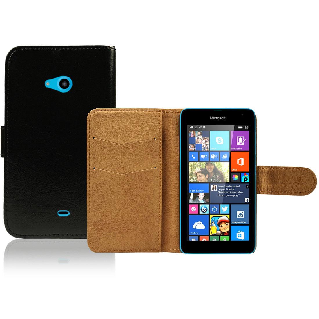 Pouzdro pro Microsoft Lumia 535 černé