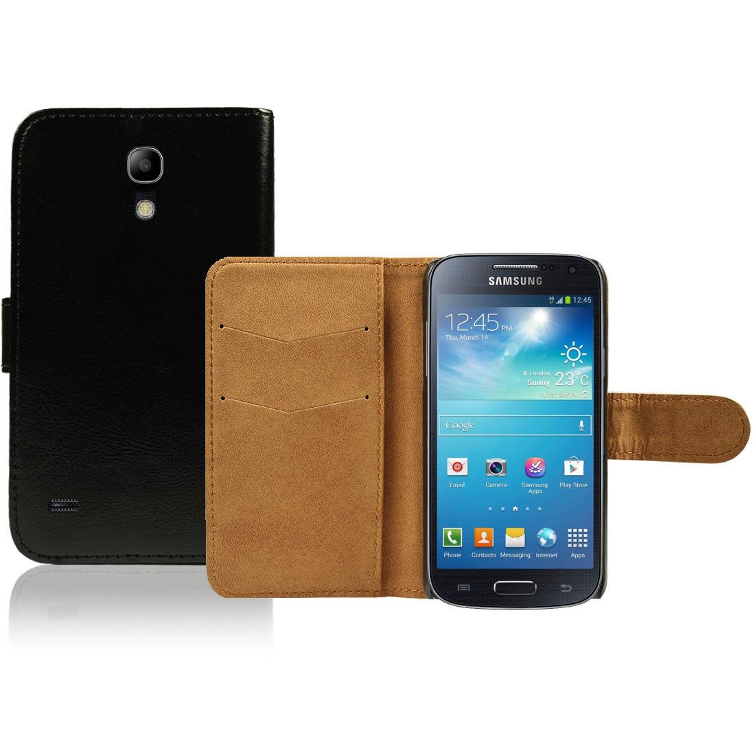 Pouzdro pro Samsung Galaxy S4 Mini černé