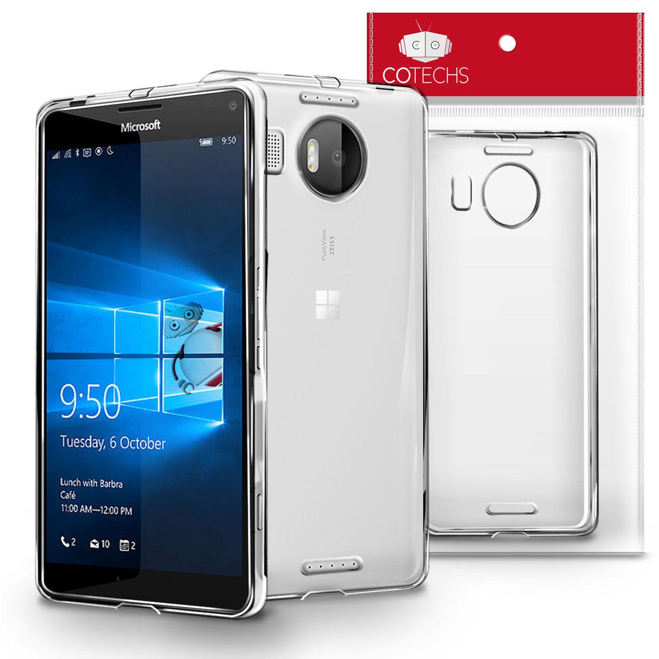 Pouzdro pro Microsoft Lumia 950 XL průhledné