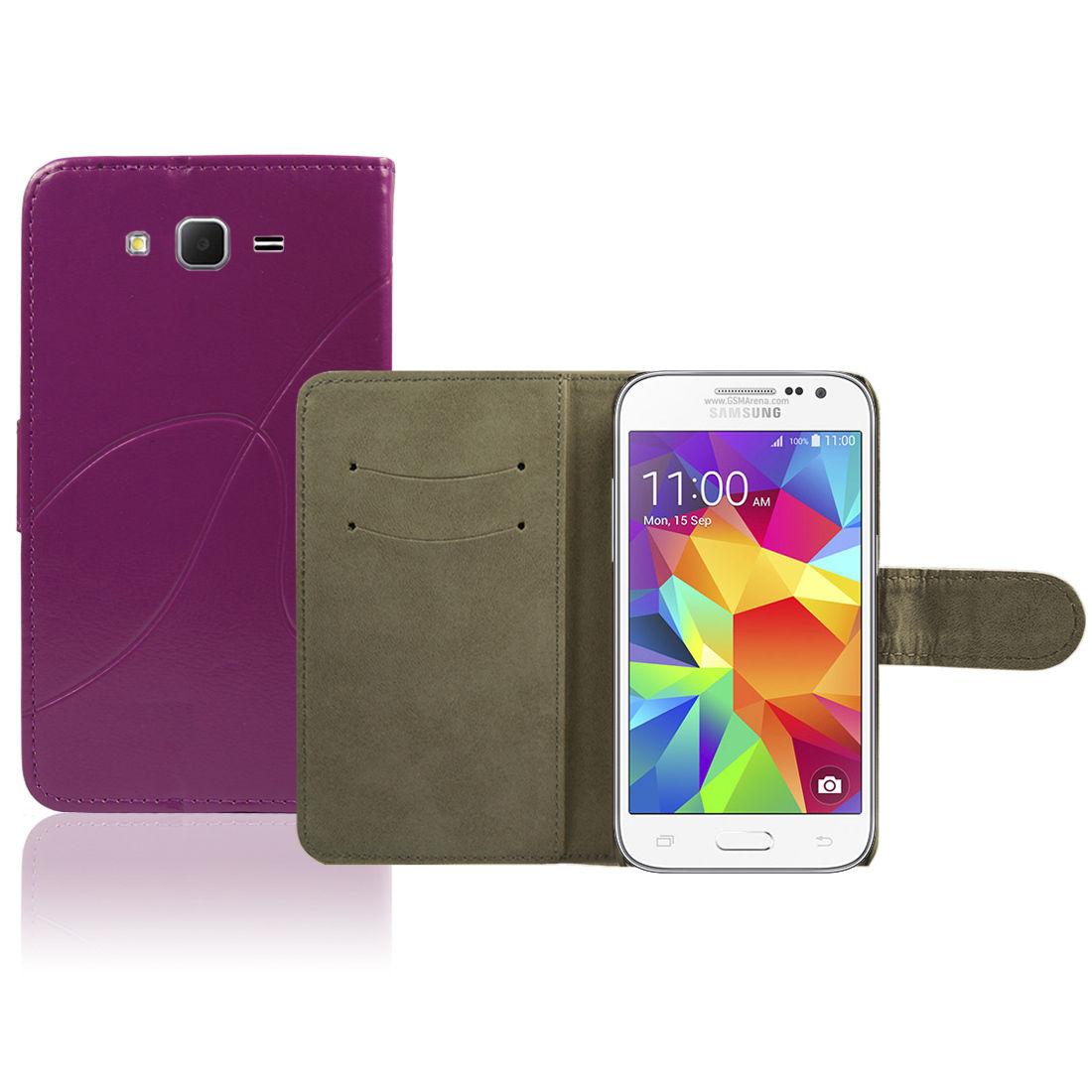 Pouzdro pro Samsung Galaxy Core Prime G360F Violett