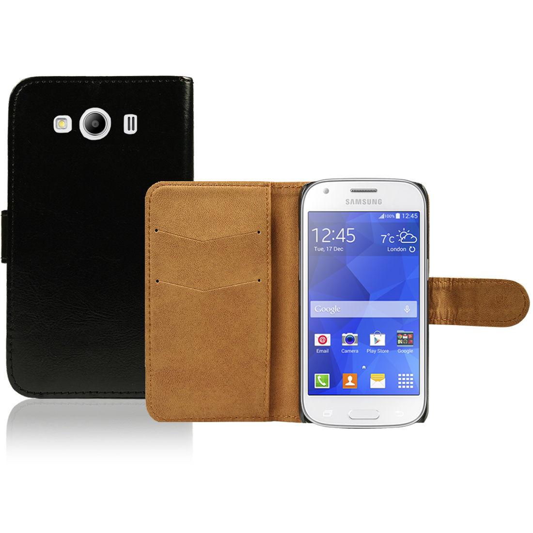 Pouzdro pro Samsung Galaxy Ace 4 SM-G357 černé