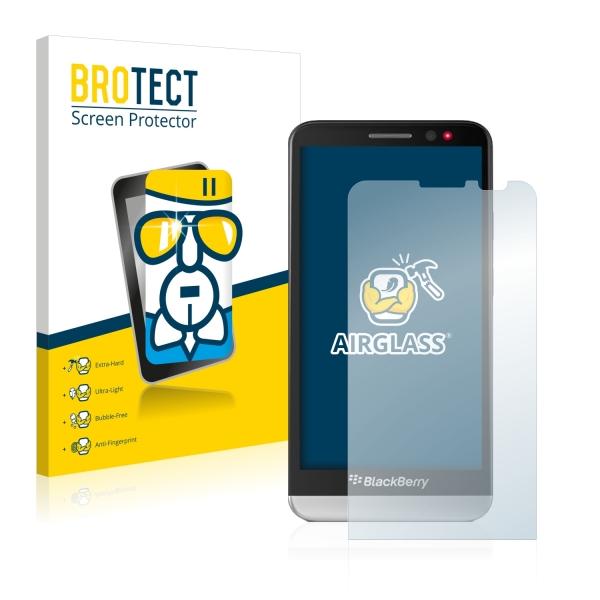AirGlass Premium Glass Screen Protector BlackBerry Z30