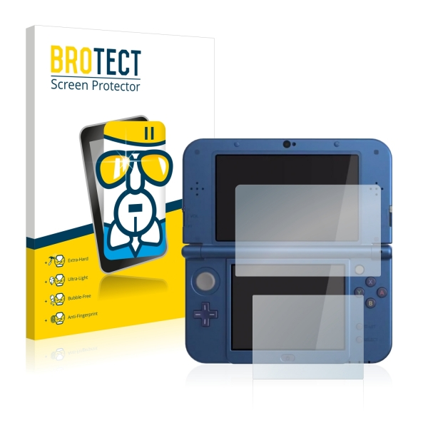 AirGlass Premium Glass Screen Protector Nintendo New 3DS XL