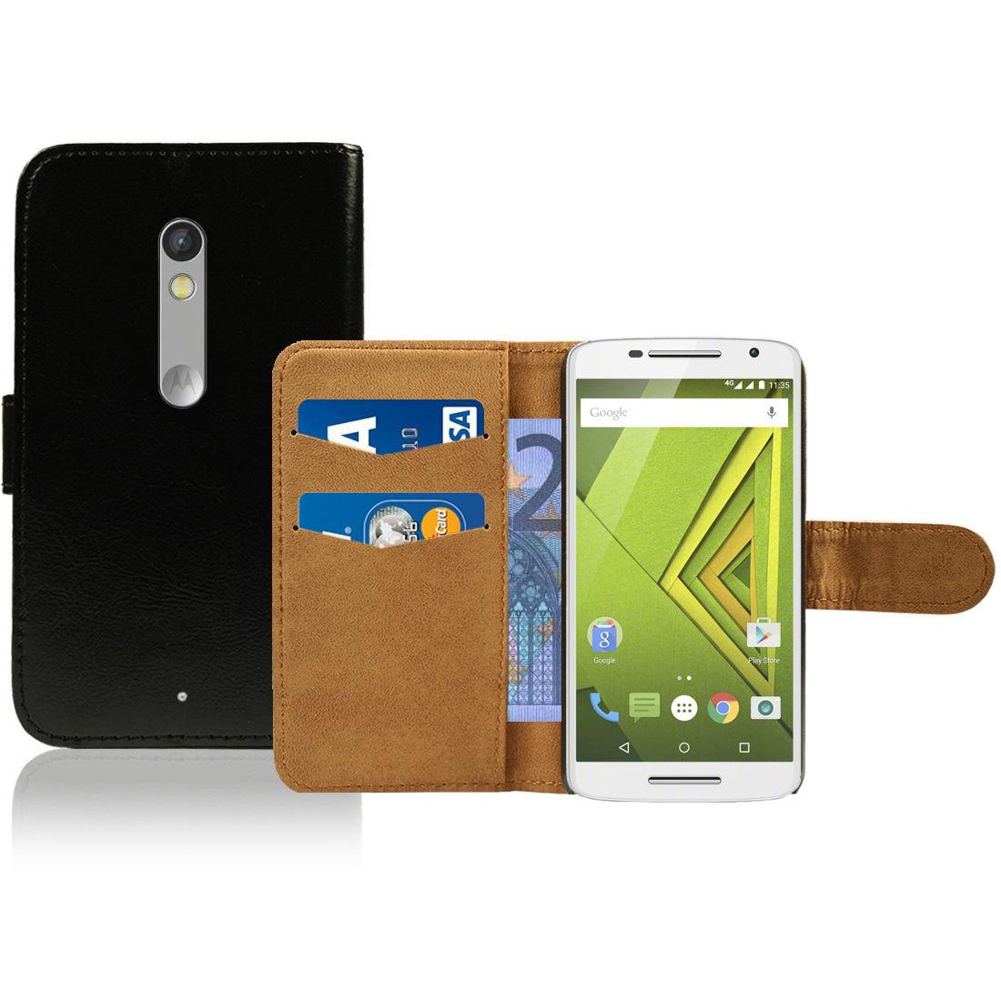 Pouzdro pro Motorola Moto X Play černé