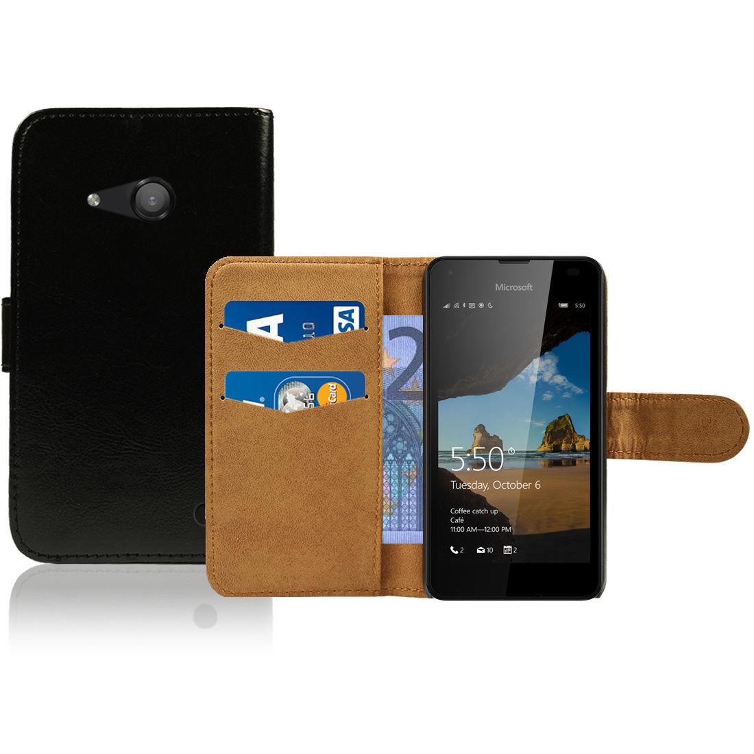 Pouzdro FLIP pro Microsoft Lumia 550 černé