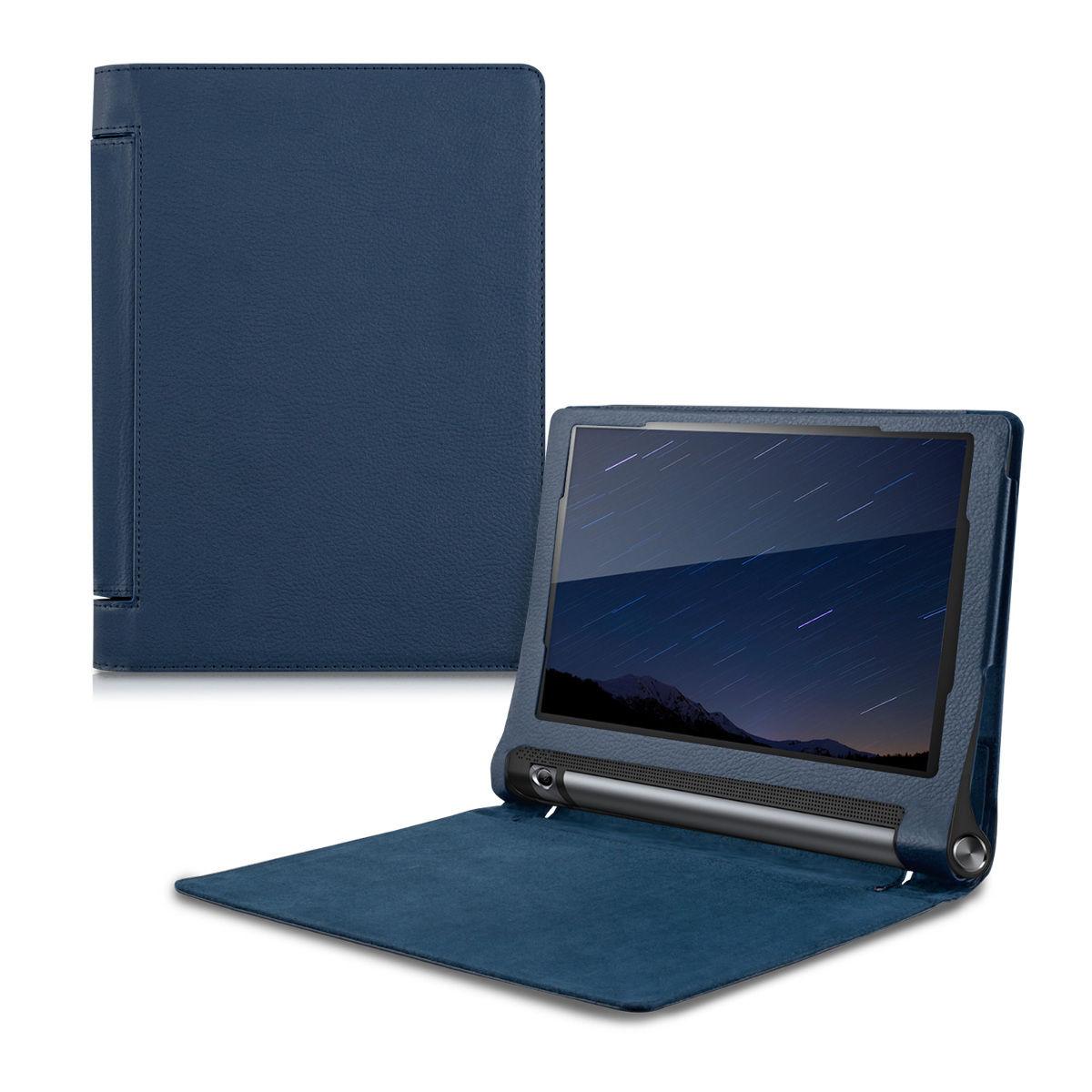 Pouzdro pro Lenovo YOGA Tablet 3 10 tmavě - modré
