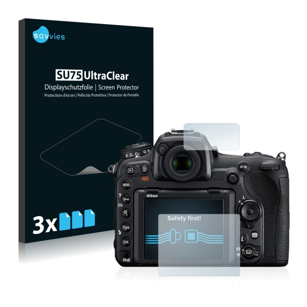 6x SU75 UltraClear Screen Protector Nikon D500