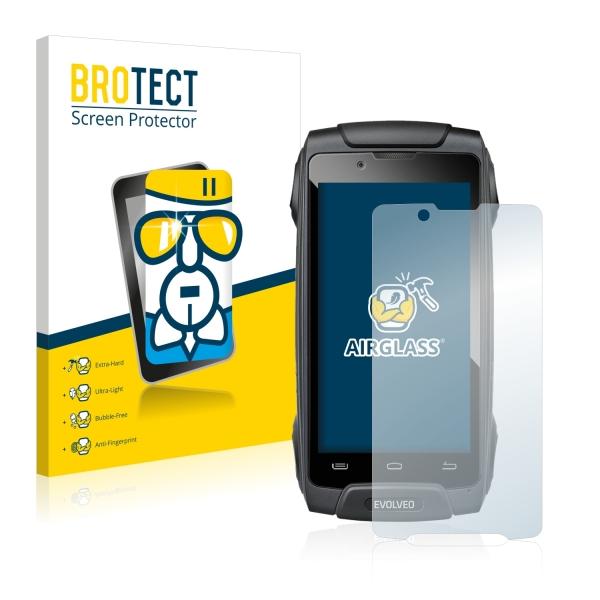 AirGlass Premium Glass Screen Protector Evolveo StrongPhone Q8 LTE