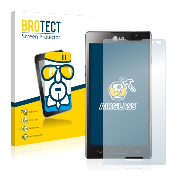 AirGlass Premium Glass Screen Protector LG Optimus L9 P760