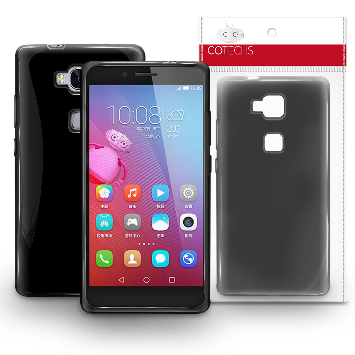 Pouzdro GEL pro Huawei Honor 5X černé