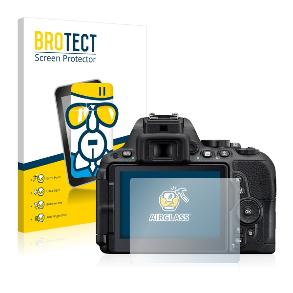 AirGlass Premium Glass Screen Protector Nikon D5500
