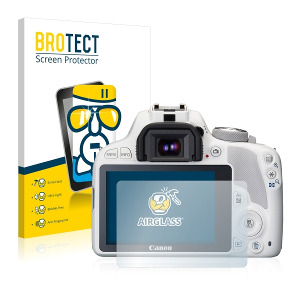 AirGlass Premium Glass Screen Protector Canon EOS 100D