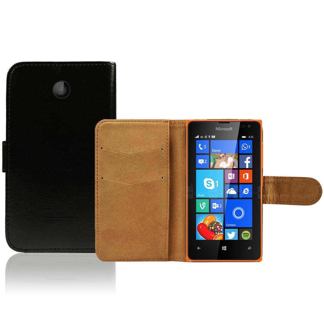 Pouzdro pro Microsoft Lumia 435 černé