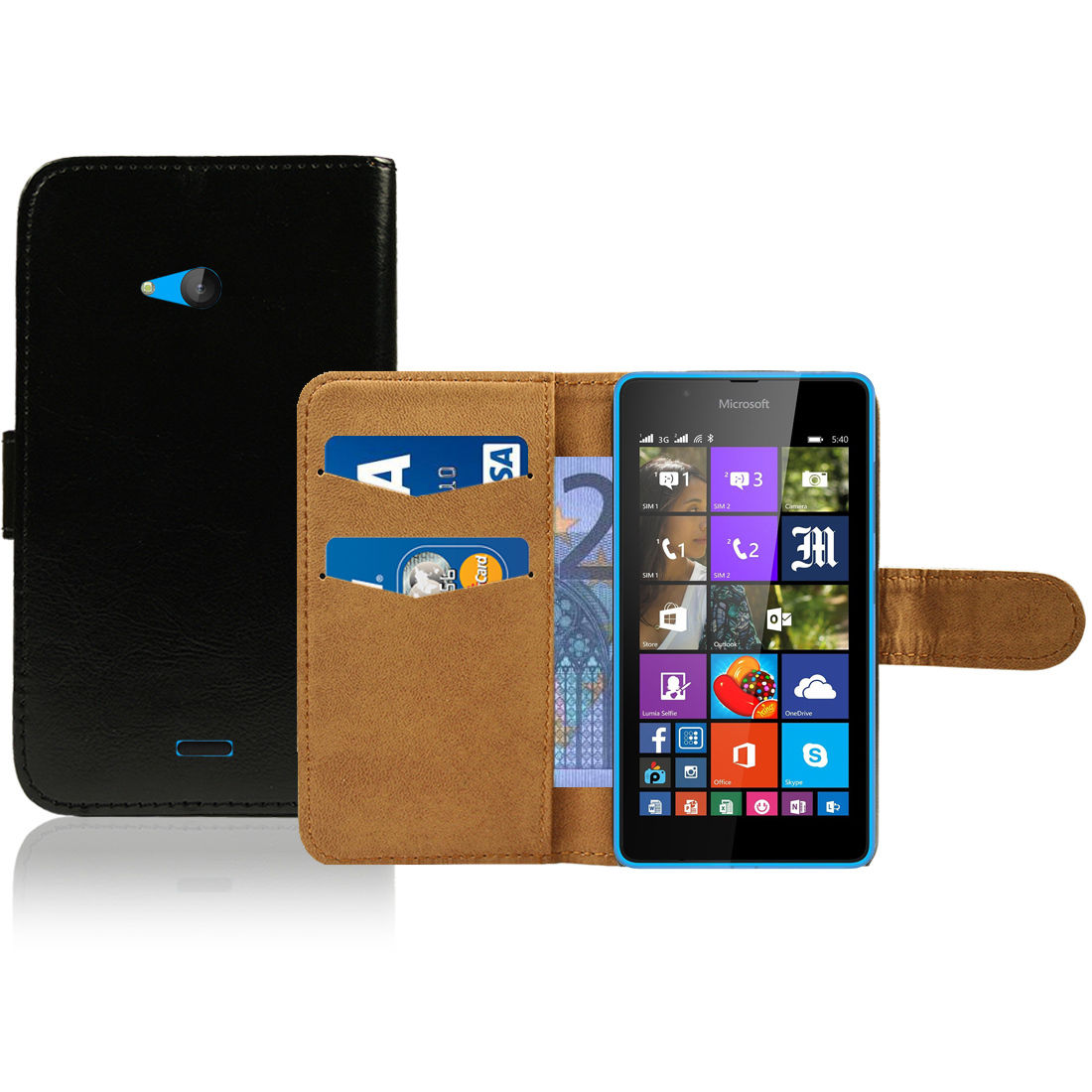 Pouzdro pro Microsoft Lumia 540 černé