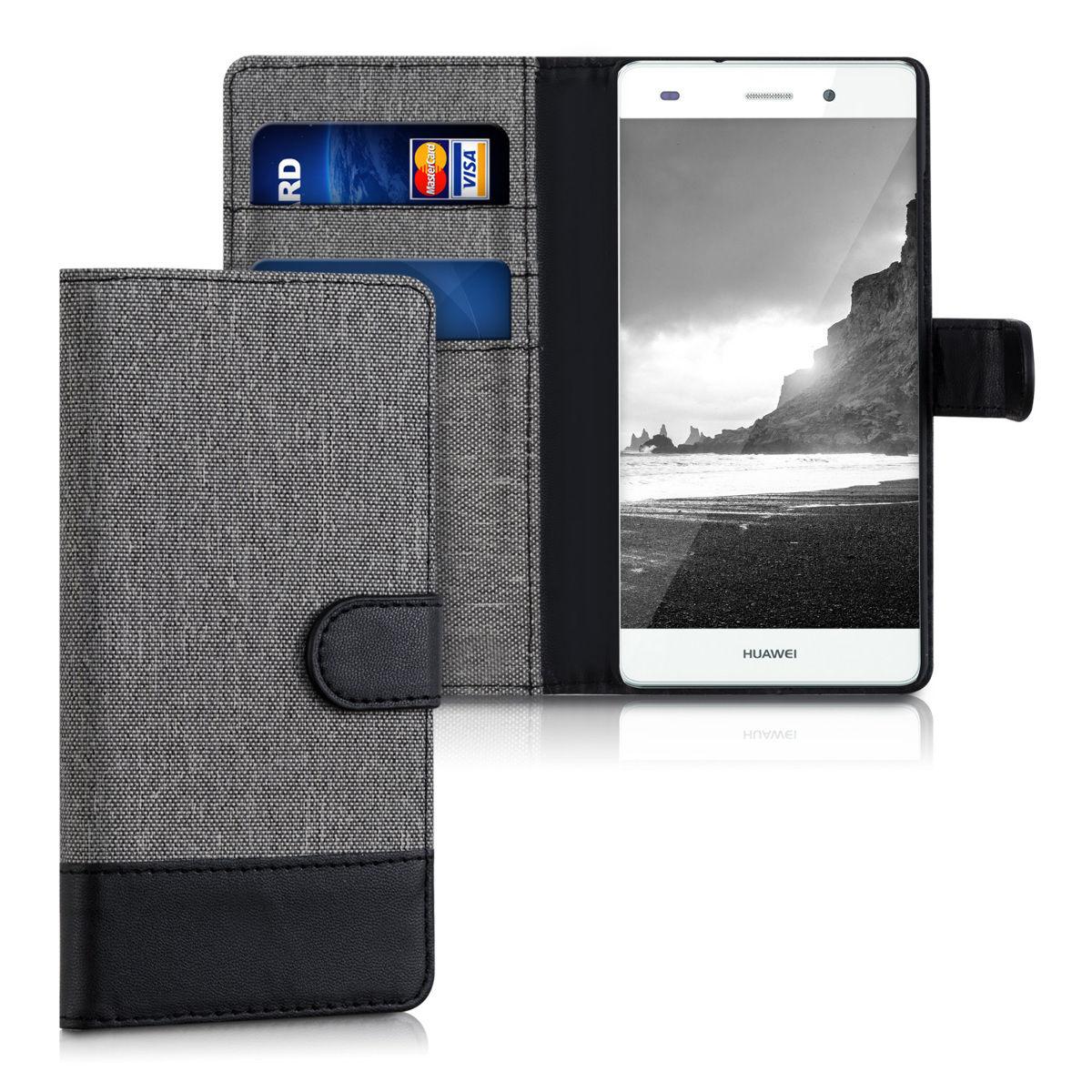 Pouzdro pro Huawei P8 Lite šedé
