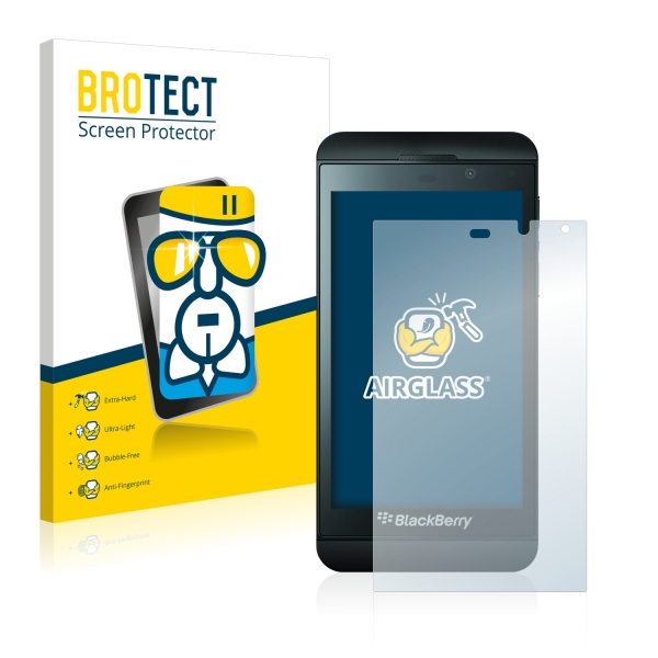 AirGlass Premium Glass Screen Protector BlackBerry Z10