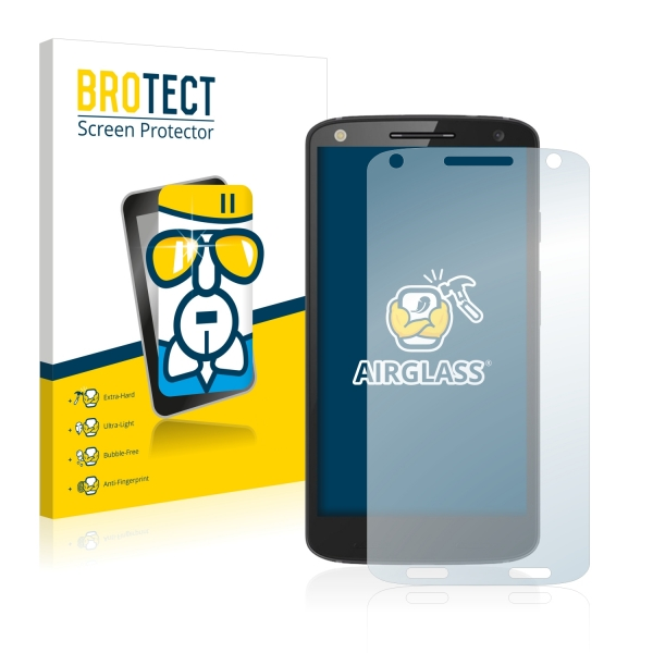 AirGlass Premium Glass Screen Protector Motorola Moto X Force