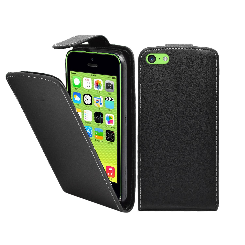 Pouzdro flip pro Apple iPhone 5C černé