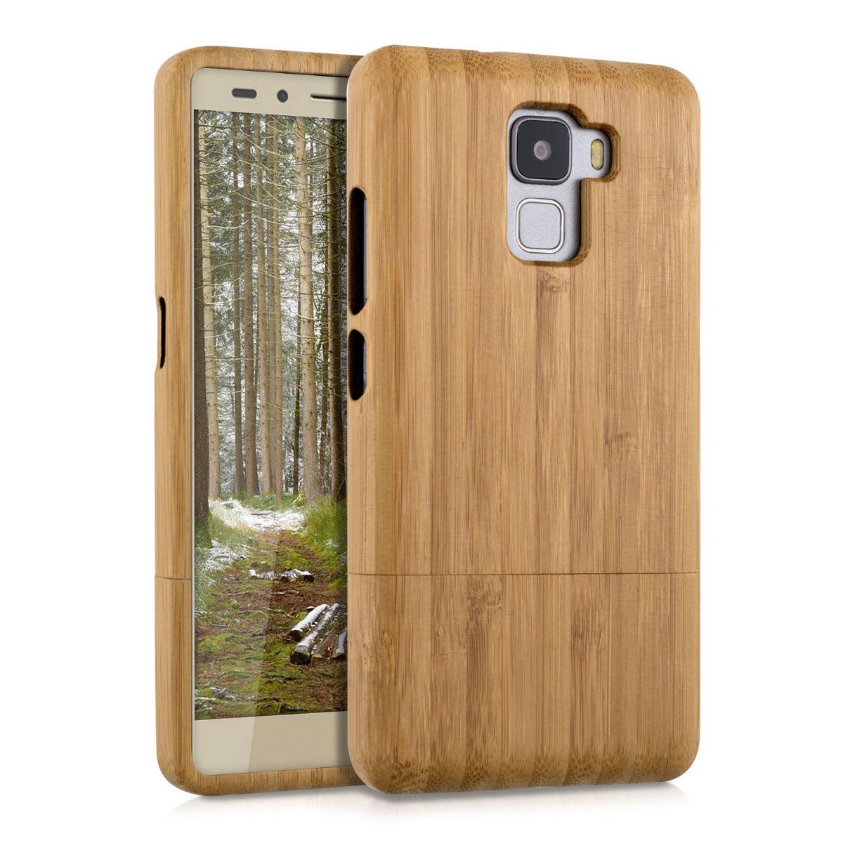 Pouzdro pro Huawei Honor 7 bambus