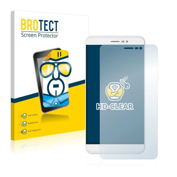 2x BROTECTHD-Clear Screen Protector Coolpad Porto S