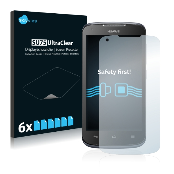 6x SU75 UltraClear Screen Protector Huawei Ascend Y520