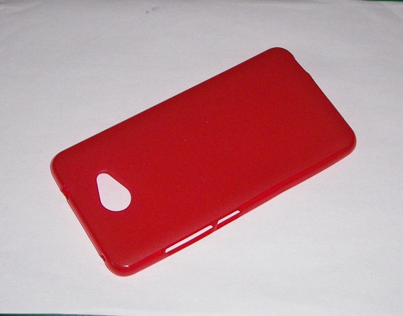 Pouzdro GEL pro Vodafone Smart ultra 7 červené