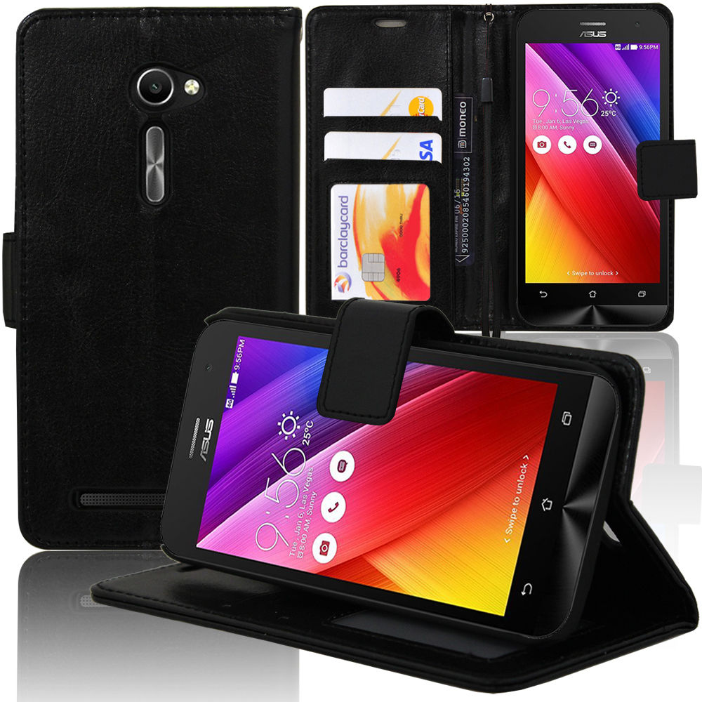 Pouzdro pro Asus Zenfone 2 ZE500CL černé
