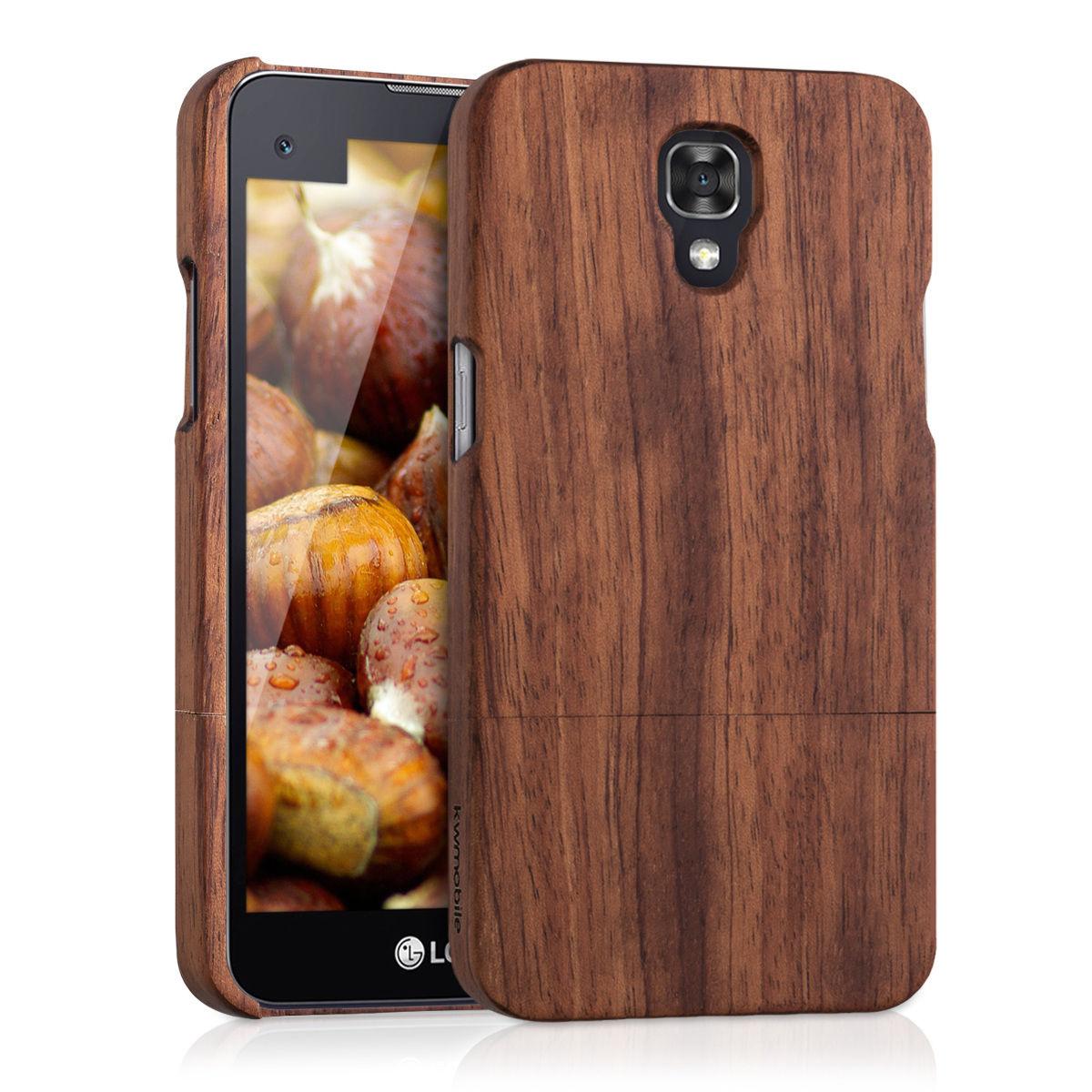 Pouzdro pro LG X Screen dřevo