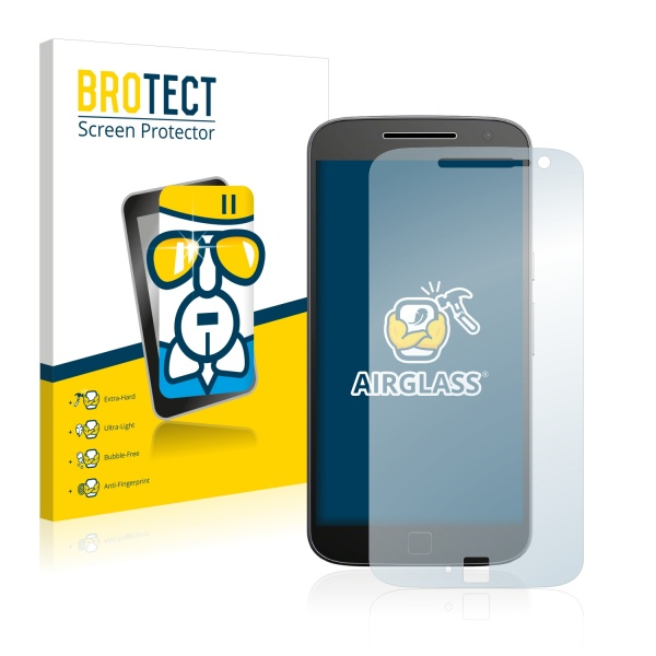 AirGlass Premium Glass Screen Protector Motorola Moto G4 Plus