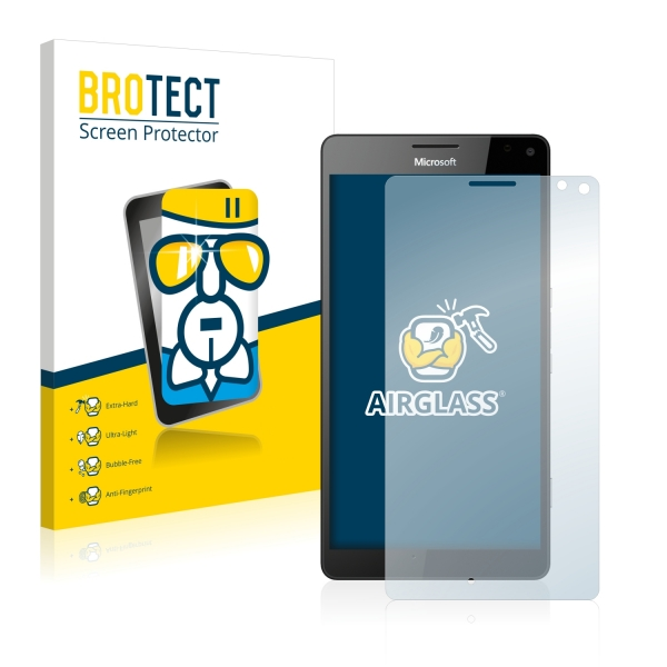 AirGlass Premium Glass Screen Protector Microsoft Lumia 950 XL