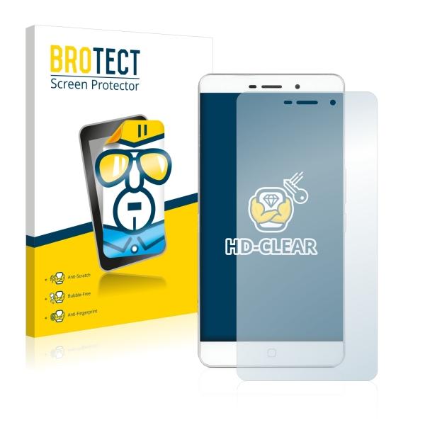 2x BROTECTHD-Clear Screen Protector Elephone P9000 Lite