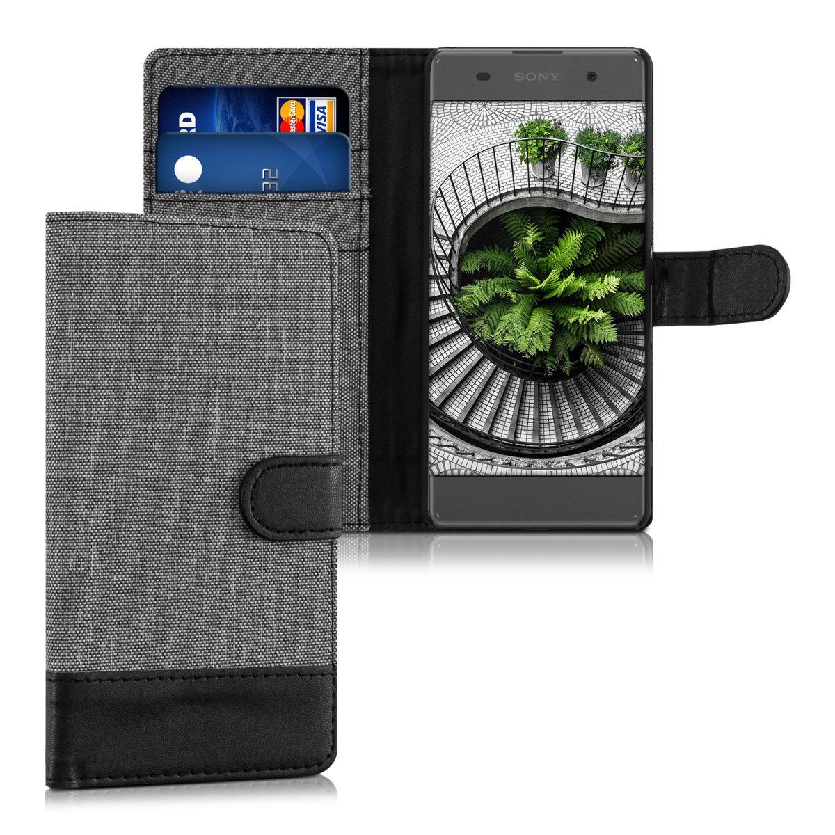 Pouzdro pro Sony Xperia XA šedé