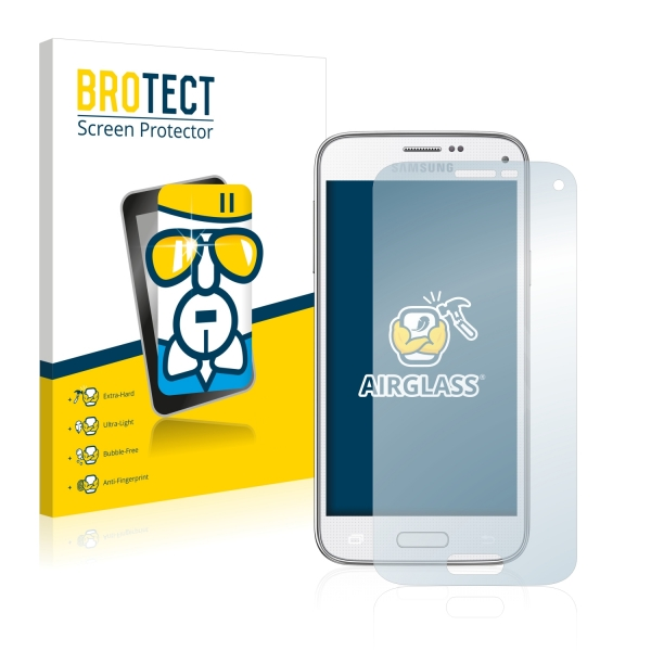 AirGlass Premium Glass Screen Protector Samsung Galaxy S5 Mini