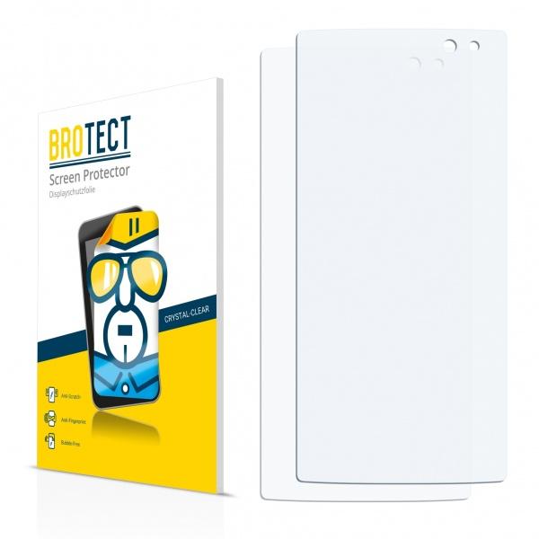 2x BROTECTHD-Clear Screen Protector Alcatel Idol 4S