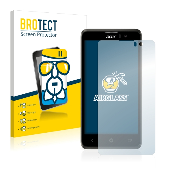 2x BROTECTHD-Clear Screen Protector Acer Liquid Z520