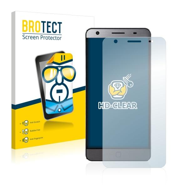 2x BROTECTHD-Clear Screen Protector Elephone P7000