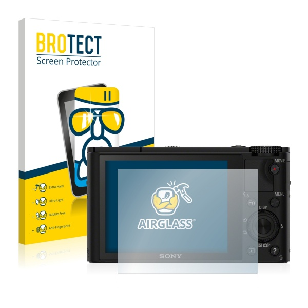 AirGlass Premium Glass Screen Protector Sony Cyber-Shot DSC-RX100