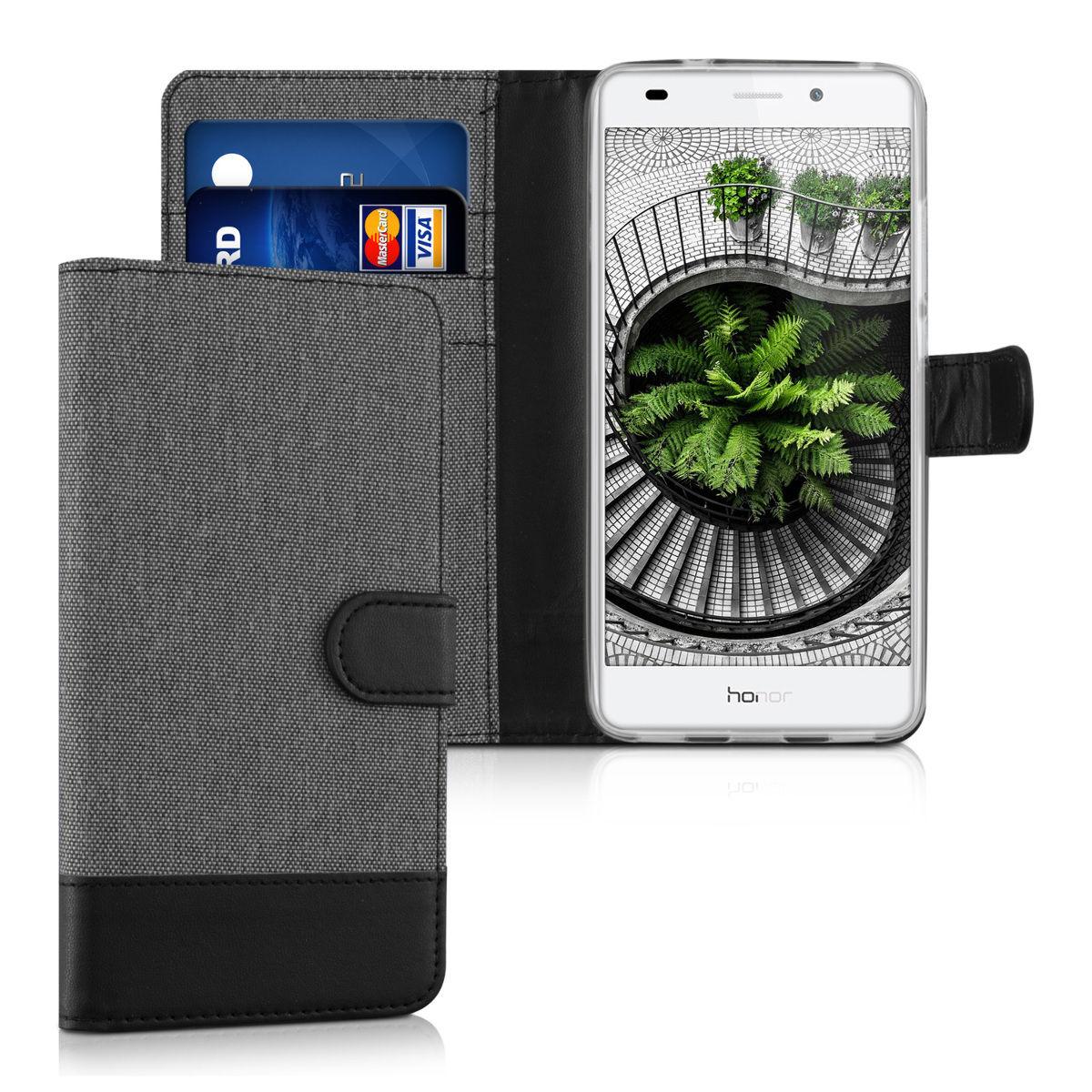 Pouzdro pro Huawei Honor 7 Lite šedé