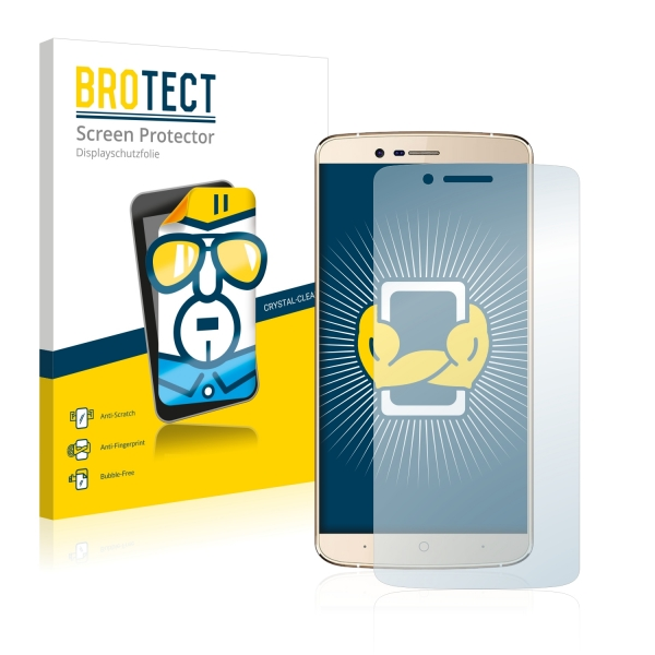 2x BROTECTHD-Clear Screen Protector Elephone P8000